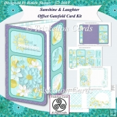 Sunshine & Laughter Offset Gatefold Card Kit with Insert & Envie
