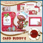It Moust Be Christmas! Assymetric Shaped Fold Card Kit