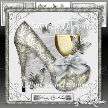 Lemon Shoes & Prosecco Mini Kit. Birthday/mothers Day