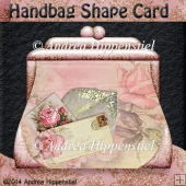 Handbag shape Card wedding