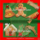 GINGERBREAD COOKIE COLLECTION - EMBELLISHMENTS 2