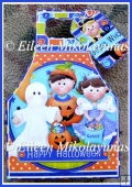 Boo Crew Halloween Gift Tote and Tag Set with Directions