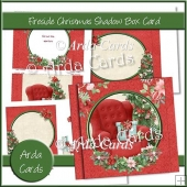 Fireside Christmas Shadow Box Card
