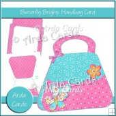 Butterfly Brights Handbag Card