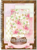 Garden Gate Cottage Chic Background Papers Set