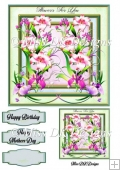 Flowers for You 4 Card