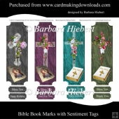 Bible Book Marks with Sentiment tags
