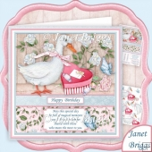 GOOSE GIFT 8x8 Decoupage & Verse Mini Kit