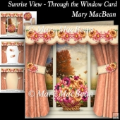 Sunrise View - Through the Window Card