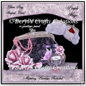 Glam Bag Card - Purple Haze