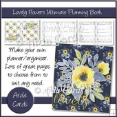 Lovely Flowers Ultimate Planning Book