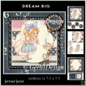 Dream Big Cardtopper 892