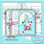 Polar Pals Gift Box Card
