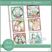 Christmas Animals Toppers