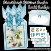 Church Carols Christmas Cracker Card & Envelope