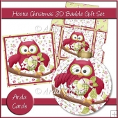 Hootie Christmas 3D Bauble Gift Set