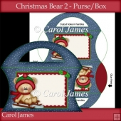 Christmas Bear 2 - Purse/Box