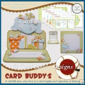 Birthday Elephant Over The Top Easel Card Kit