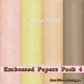 Embossed Paper Pack 12x12 inches Commercial Use