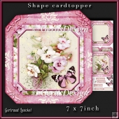 Shape Card Topper 340 Pink