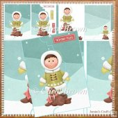 Eskimo envelope card front