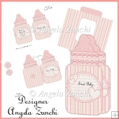 BABY GIRL BOTTLE CARD 2