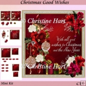 Christmas Good Wishes Mini Kit