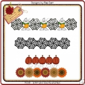 097 Halloween & Fall Borders *MACHINE Cut Files*
