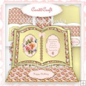 Roses easel book card