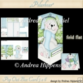 Pop Out Box Card Polar Bear