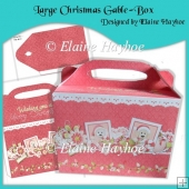 Large Christmas Gable-Box