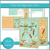 Pond Life Asymmetric Card