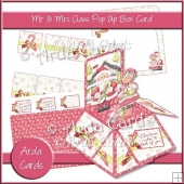 Mr & Mrs Claus Pop Up Box Card