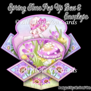 Spring Time Pop Up Box