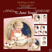 Baking Cakes - 3-Sheet Mini-Kit