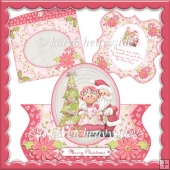 Mr and Mrs Claus Bracket Over The Top Card