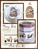 Vintage Bath Powder Room Box