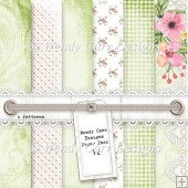 WENDY CARR DESIGNS PAPER PACK 12