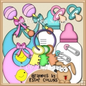 Baby Accessories - Clipart