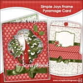 Simple Joys Frame Pyramage Card and Envelope