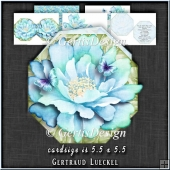 Flower Shaped Card Kit 1338