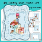 The Finishing Touch Bracket Shaped Card