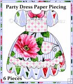 Party Dress Paper Piecing Project
