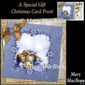 A Special Gift Christmas Card Front