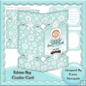 Eskimo Boy Cracker Card