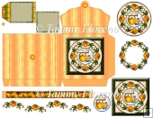Pumpkin Pie Small Purse Decoupage Kit