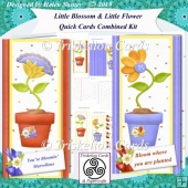 Little Blossom & Little Flower Quick Cards Combined Kit