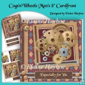 CogsnWheels Mens 8inch Cardfront