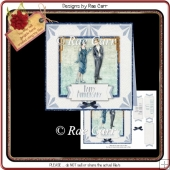 PS059 Deco Couple Card Front