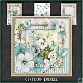Vintage Shabby Chic Blossom Card Kit 1162